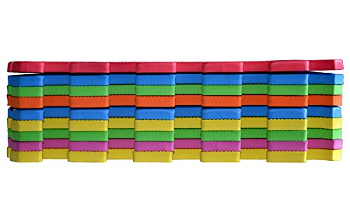 POCO DIVO Floor Mat 9-tile Multi-Color Exercise Mat Solid Foam EVA Playmat Kids Safety