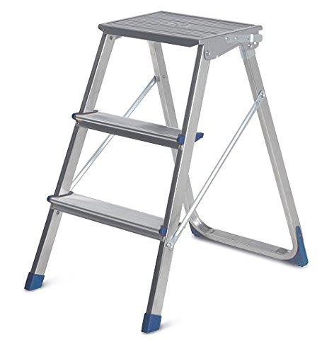 Framar Piuma Aluminium-Trittleiter mit 3 Stufen aus Aluminium