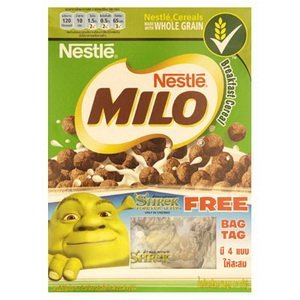 Chocolate Milo Whole Grain Cereals 170 G(2 Packs)