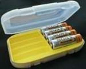 Delkin Battery 8 Cell Storage Case Battery Holder