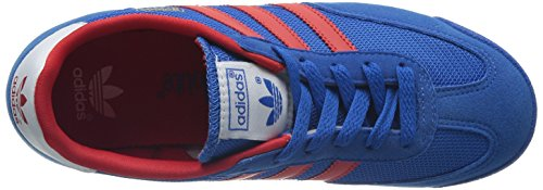 adidas Dragon, Jungen Sneakers Blau (Bluebird / Poppy / Running White Ftw)