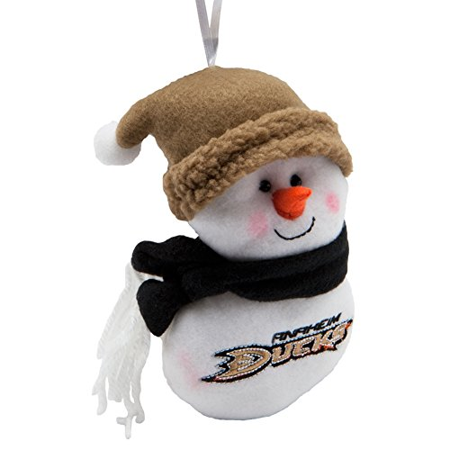 Anaheim-Ducks-Plush-Snowman-Ornament