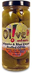 Olive it and more... Jalapeno & Blue Cheese Stuffed Olives