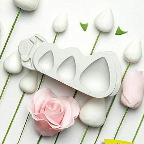 Molde de silicona para decoración de pasteles, diseño de conos de rosas y espinas: Amazon.es: Juguetes y juegos