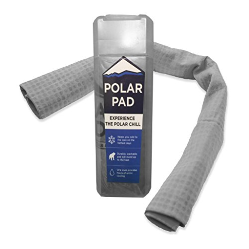 (Polar Pad Cooling Towel in Charcoal Gray)