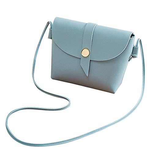 Bags Sintética estilo Piel Mujer Mounter Azul JJ4 de preppy PN SxTdnnqZwf