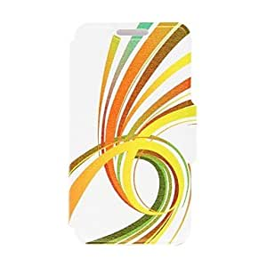 WEV Kinston Future Road Pattern PU Leather Full Body Case with Stand for Samsung Galaxy S4 I9500