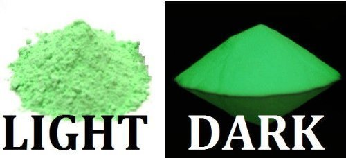 - 1 oz Nite Bright Green Glow-in-the-Dark Powder Glow in The Dark Pigment Luminous 1 oz Nite Bright Green Glow-in-th e-Dark Powder Glow in The Dark Pigment Luminous