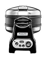 Kitchenaid 5KWB110EOB Artisan-Waffeleisen, schwarz