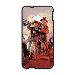 Back To The Future HTC One M7 Cell Phone Case Black yyfabc-404918