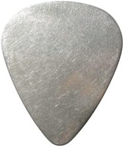 3 stainless steel metal  guitar picks choice of shape /& gauge