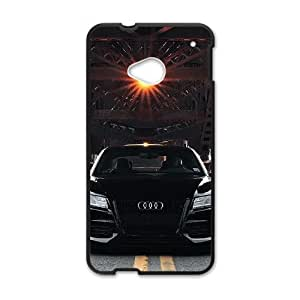 Audi HTC One M7 Cell Phone Case Black Customize Toy zhm004-3839232