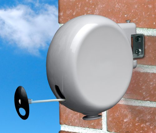 Amazon.com: Minky Retractable Reel Outdoor Dryer, 49 Feet Line Drying  Space: Home U0026 Kitchen