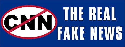 no-cnn-the-real-fake-news-bumper-sticker-pro-trump-anti-main-stream