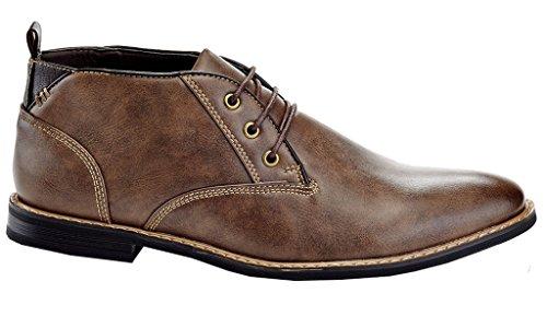 Chukka Boots Franco Men's Luca Brown Vanucci tBq7Zvqw