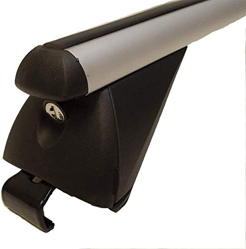 MP Essential 1.2m Roof Bars to fit 508 Station Wagon Aluminium Locking Bars for Cars with Flush Solid Running Rails 2010+