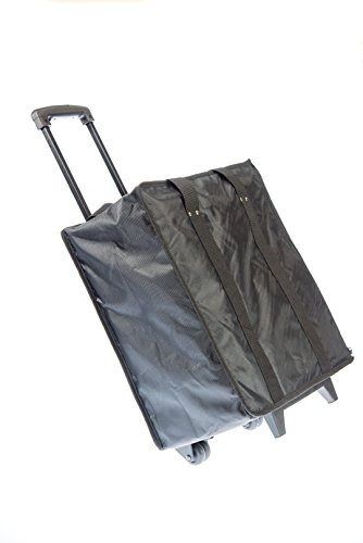 SE JT918TCB-WW Seventeen Trays Trolley Case with Wheels for Jewelry by SE