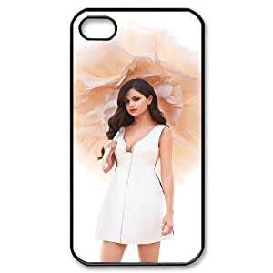 HOPPYS Customized Print Selena Gomez Pattern Back Case for iPhone 4/4S
