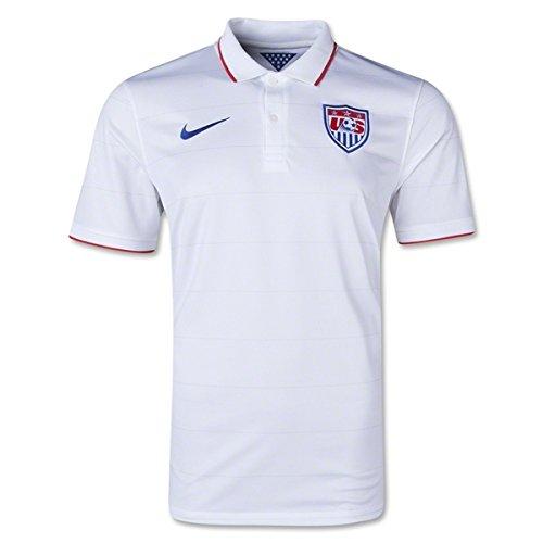 NIKE USA 2014 Stadium Men's Soccer Shirt, White, ()