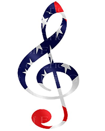 18-Sheet-Band-Music-Patriotic-Note-Birthday-Edible-CakeCupcake-Party-Topper
