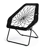 Bunjo Chair Bungee Chair Hex (Black). Great for...