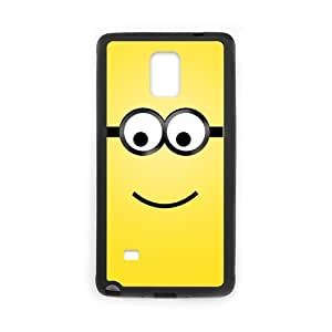 Custom Despicable Me Minion Face Funny Case Cover for SamSung Galaxy Note4