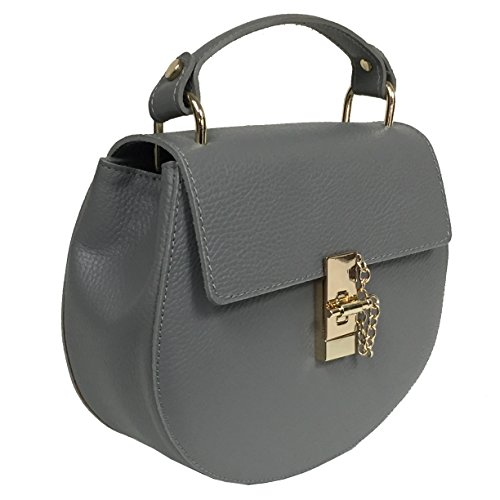 Other, Borsa a spalla donna grigio Grey Standard