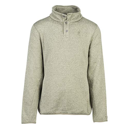 (Browning Men's Gilson Sweater | Heather Deep Lichen Green | X-Large)