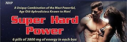 NHP - Super Hard Power 100 % Natural 6 Pills