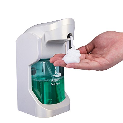 RICKYAARON Automatic Touchless Soap Dispenser - New Design - Sensor (Saon Soap Dish)