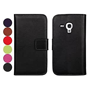 YXF Solid Color Pattern PU Leather Full Body Case for Samsung Galaxy S3 mini I8190 , Purple