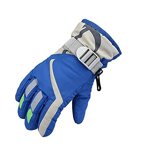 Children Ski Gloves Winter Warm Outdoor Riding Thickening Gloves(2-4years) YR.Lover