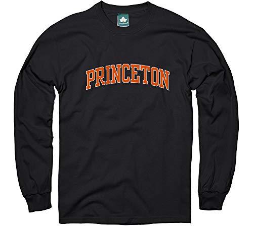 Ivysport Princeton University Long-Sleeve T-Shirt, Classic, Black, Medium