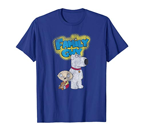 Family Guy Brian and Stewie T-shirt ()