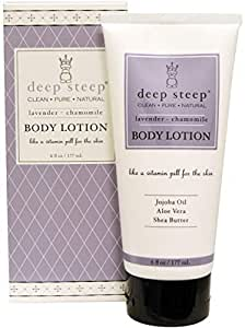 Deep Steep Body Lotion Lavender Chamomile 6 fl oz (177 ml)