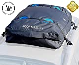ROOF MASTER The Ultimate Car Roof Top Cargo Carrier for all Roof Racks. Unique IP66 waterproof design – Universal all cars and vehicles - 16 Cu ft