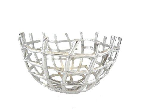 Gold Eagle USA Large Basket Bowl Centerpiece, 13