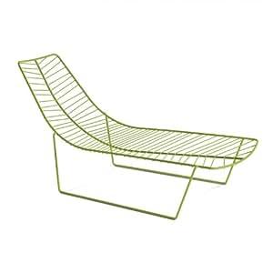 Leaf Lounger green/steel