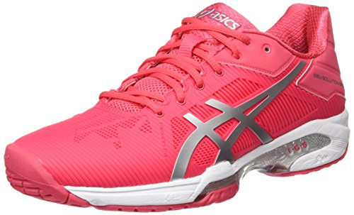 silver Asics Red solution Rosso Speed white Scarpe 3 rouge Tennis Da Donna Gel wPfqrSnBw