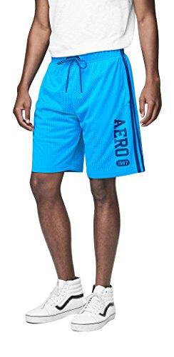Aeropostale Mens Stripe Athletic Shorts