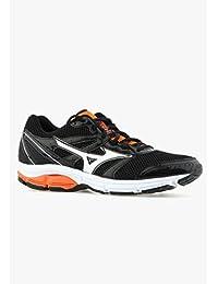 Mizuno Shoes Running Sneaker Men Wave Impetus 2 Black Orange Size 9
