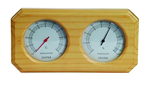 sauna equipment and accessories sauna room thermometer and hygrometer larger size. Black Bedroom Furniture Sets. Home Design Ideas