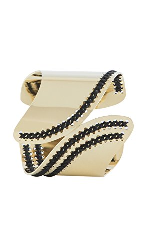 Camille Enrico Cuff Mereo Black   Gold Women