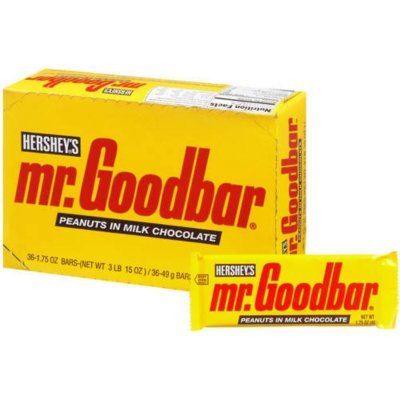 Mr. Goodbar Candy Bar Peanuts In Milk Chocolate 1.75 Oz (Pack Of 36) (2 Units Per Order)