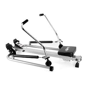 Klarfit Rowfit-10 Basic Ausdauer Rudergerät Arm- und Rudertrainer für Rücken-...