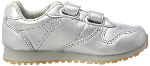 Lico Glare V, Zapatillas Para Niñas Plateado (Silber)