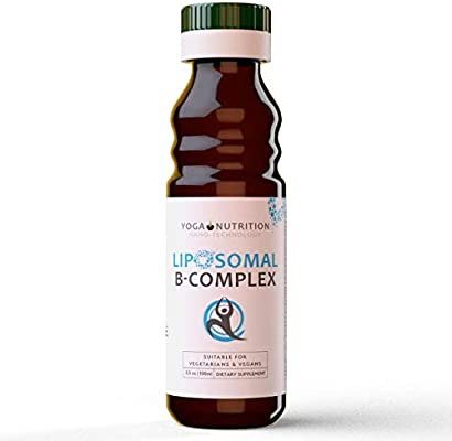 Yoga Nutrition Complejo liposomal de vitamina B, 100 ml ...