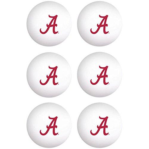 WinCraft Alabama Crimson Tide NCAA Ping Pong Ball Set - Team - Alabama Table