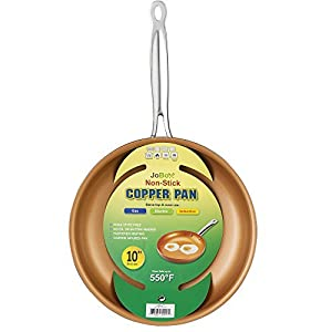 Non-stick Copper Frying Pan with Ceramic Coating By Jobox