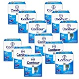 Bayer Contour Blood Glucose 50ct Test Strips (Case of 12)